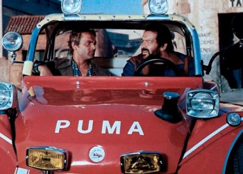 La dune buggy di Bud Spencer e Terence Hill