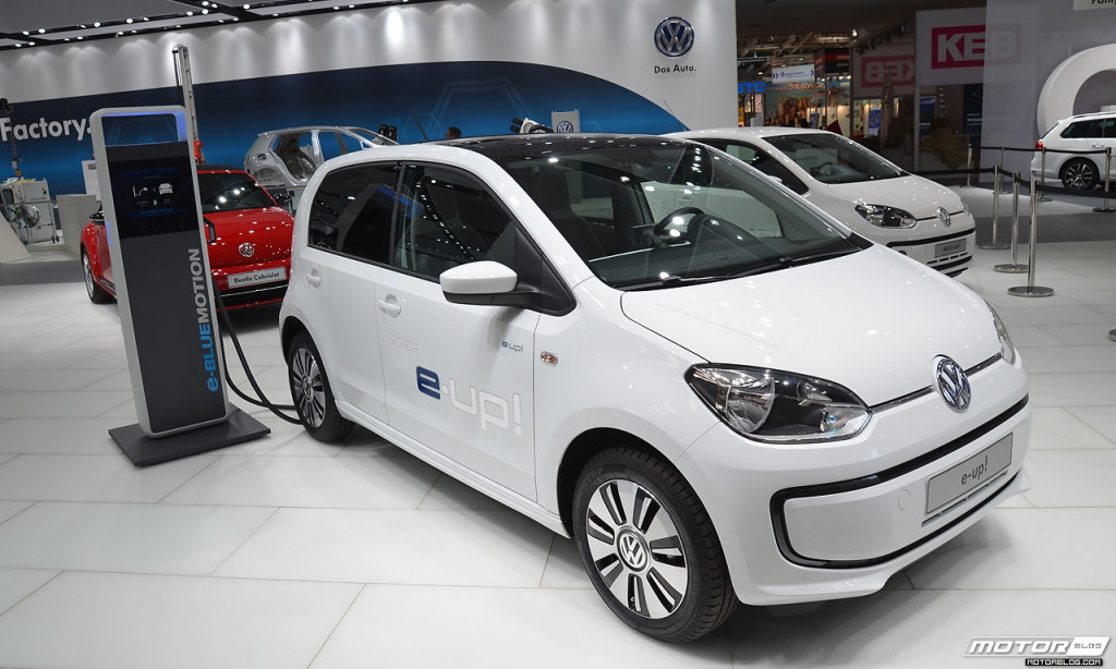 VW e-up! Hannover Messe