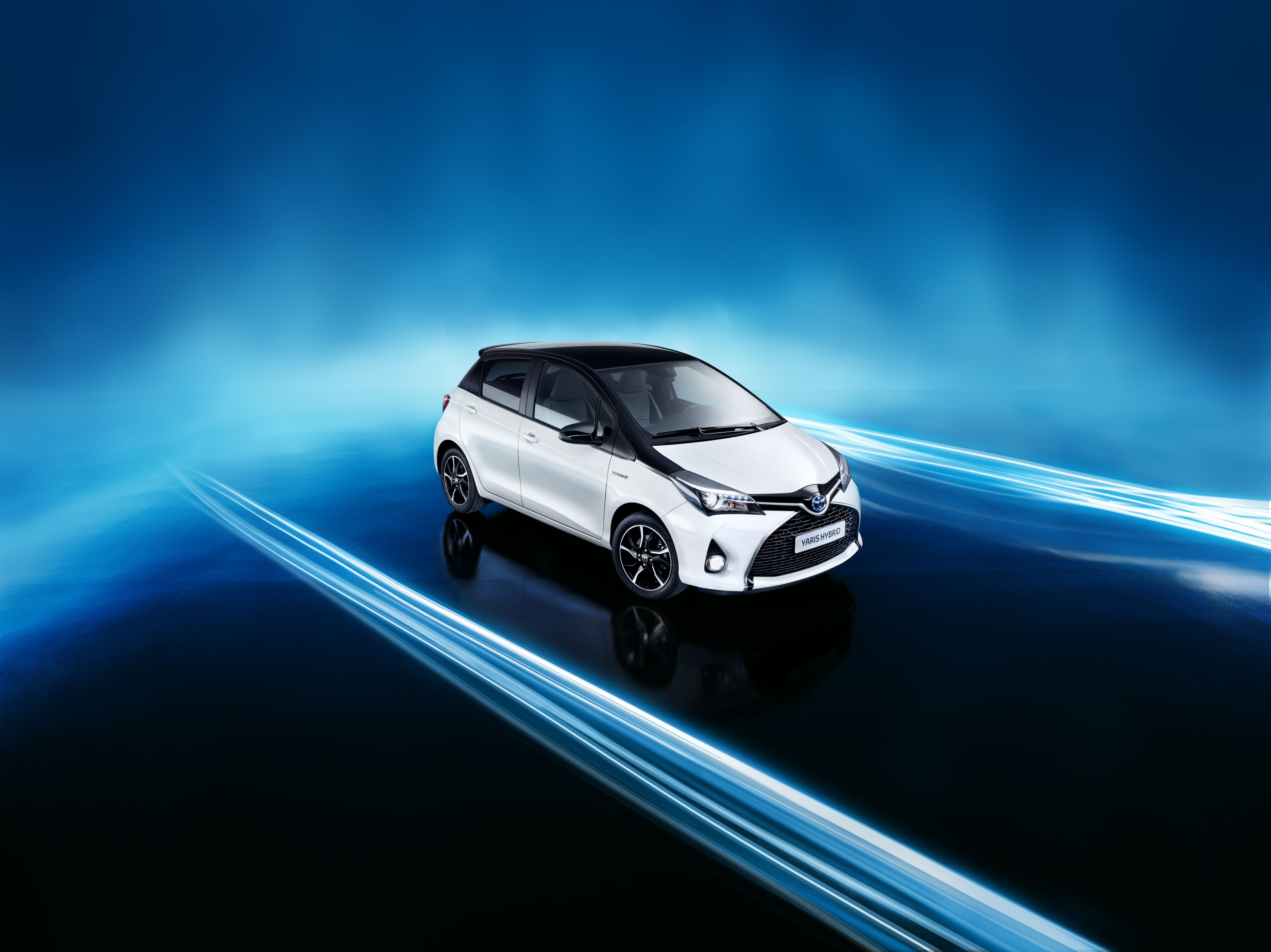 White is the New Yaris