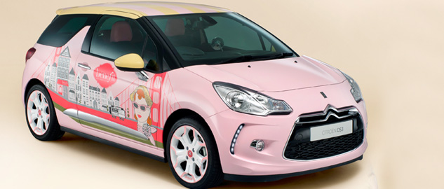 Citroen DS3 Benefit Cosmetics