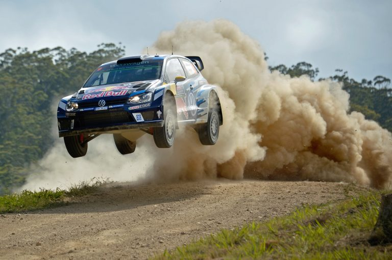 Andreas Mikkelsen (NOR), Anders Jæger (NOR) Volkswagen Polo R WRC (2016) WRC Rally Australia 2016 Photo: Daniel Roeseler