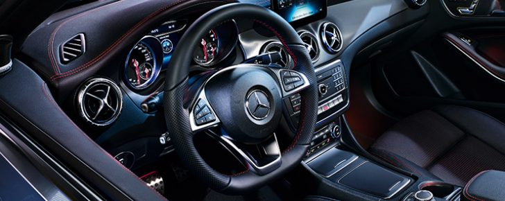 Mercedes CLA Shooting Brake Interni