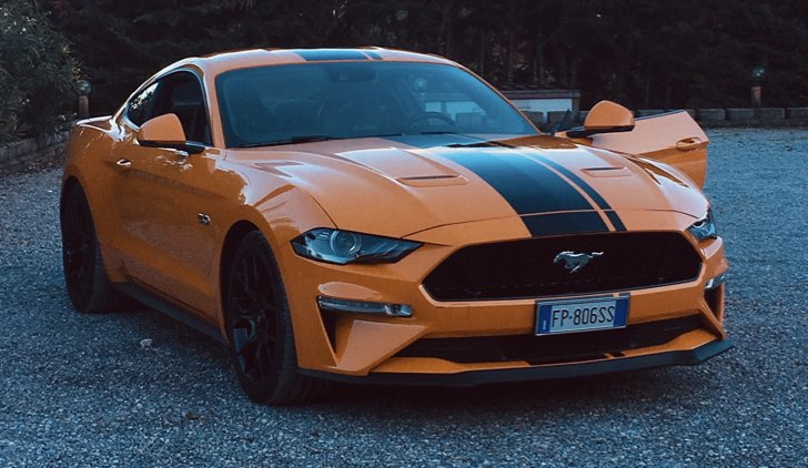 Ford Mustang GT 5.0 V8 © Auto a Spillo