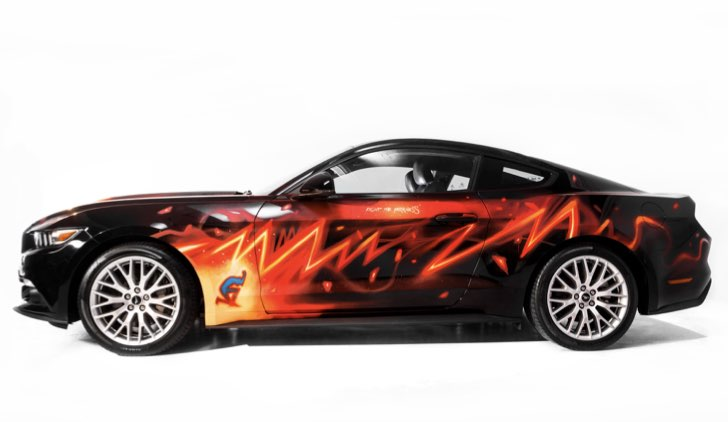 Ford Mustang #FighTheDarkness © Ford Italia