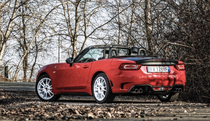 Abarth 124 Spider Rally Tribute @ LULOP